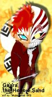 gaara the hollow sand by Sarudi