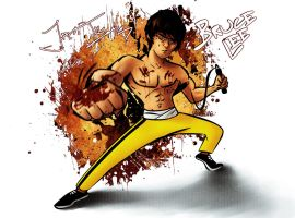 Bruce Lee by nixuboy