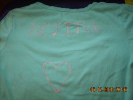 NejiTen Shirt -Simple- by NejiTenLuva