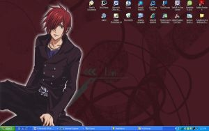 My Current desktop - Lavi 8D by Superdemon-Inuyasha
