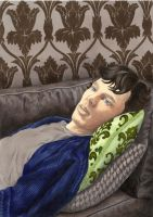 Sherlock bored by Melnia