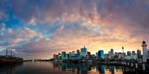 Good Morning Darling Harbour by leafinsectman