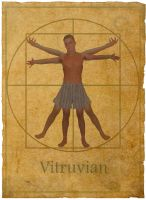 The Vitruvian Man by dridgett