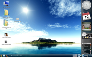 August Desktop by besnath