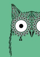 Owl T-Shirt Design by Ms-Vanilla