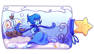 Lapis in a bottle by Naminsan