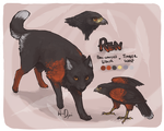 hawk wuff REN by AnneDyari