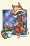Rocket and Groot by DeadBomb