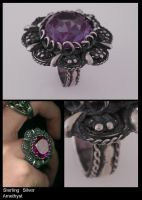 Filigree with amethyst by Herisheft