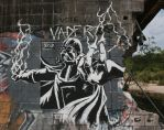 Darth Vader Graffiti by Taylor-the-Weird