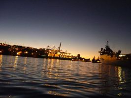Valparaiso Port by Undeat