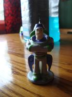 Buzz Lightyear Candle by spidyphan2