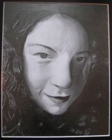 Self Portrait - Drawing by Capitaine-Jaf