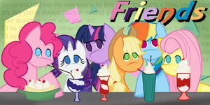Ponies Friends Parody by CadetRedShirt