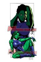 She-Hulk Supreme-Greg Nichols by Dwid