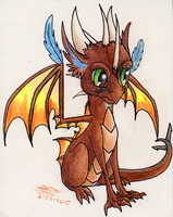 Young Exodae by EmeraldRainDragon