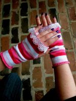 happy armwarmers by Pentecost