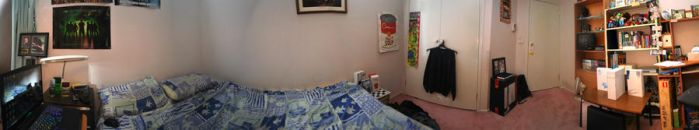 Panorama of my Room by LordDavid04