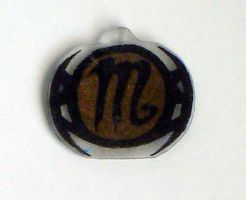 Symbol Charms- Scorpio by Isilian