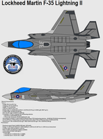 F-35 Lightning by bagera3005