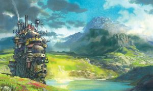 Howls moving castle wallpaper by Ticoart