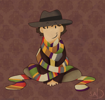 Doctor Who? Doctor Scarf. by SheepyDoodle