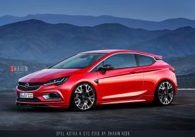 Opel Astra K GTC 2016 by Shahin Project by tuninger
