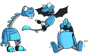 Mixels: Frosticons by Katonator