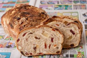 Almond cranberry bread 2 by patchow