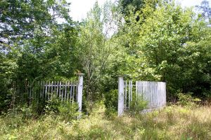 Old Garden Fence Entrance 001 by poeticthnkr