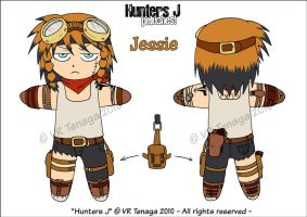 Hunters J Peluche Project: 02 by Tenaga