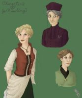 Lesser-Known HP Ladies by maera-kyrie