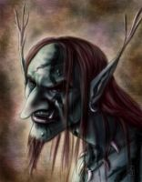 Portrait of a Troll by AranzazuFernandez