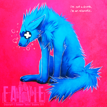 One Glass o' Wine a Day by falvie