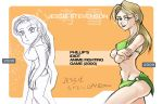Anime Game Remake v 2 Jessie by lord-phillock
