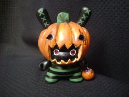 Trick Or Treat Dunny by MissNicka