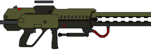 KXW-7 Guass Rifle by IgorKutuzov