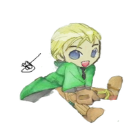 Draco Malfoy by LoonyMuffins