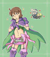 Ricken in Nowi's outfit by SparxPunx