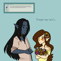 Ask Dora - Q14 - Favourite Flower by AskNilannaMarie