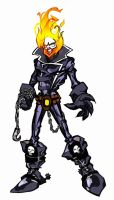 GhostRider Toonstyle by johjames