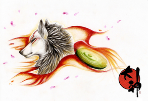 Amaterasu by CatherineSt