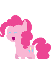 Pinkie Bounce by BatmanBrony