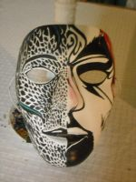 Two as One Mask III by GreenLadyMonster
