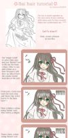 SAI hair tutorial by AmiMochi