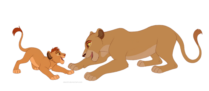 [com] Mother and son by Akeahi