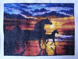 Serenity Counted Cross Stitch by CharlesLCharles