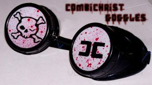Combichrist Goggles by teargarden