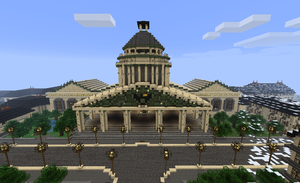 Minecraft Builds - City Hall by TheM4cGodfather