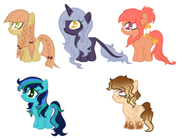 Foals Adopt 8 by CookieDreamAdopts
